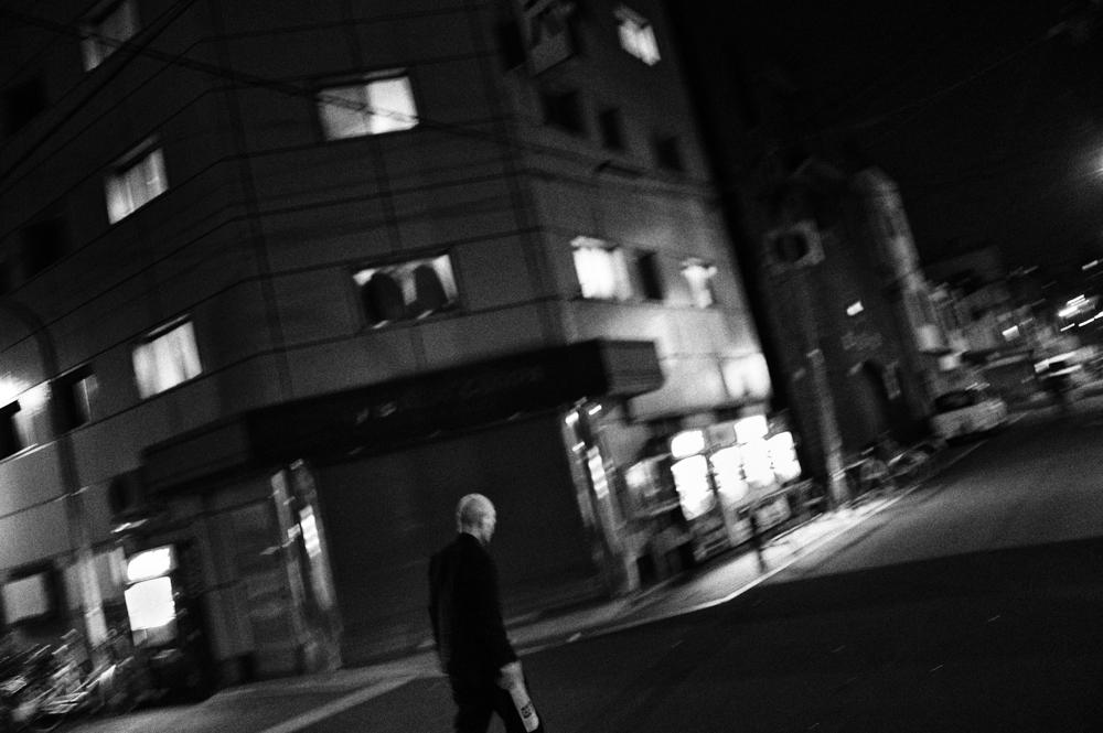 Kamagasaki by night.