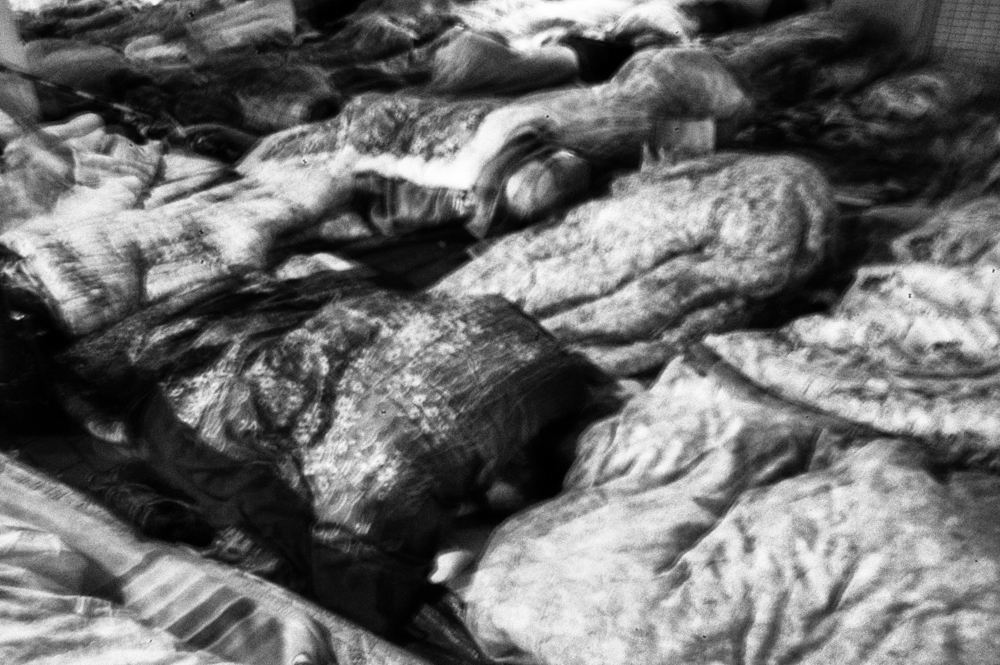 Kamagasaki - Homeless sleeping.