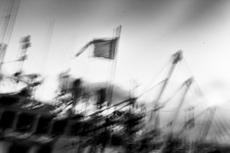 Soma (Fukushima) - One year after the tsunami - Fishing boats - 2012