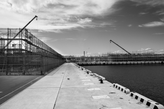Soma (Fukushima) - Reconstruction after the tsunami - Landscape - 2015